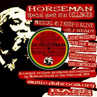 03 horseman with dillinger   dangerous & famous