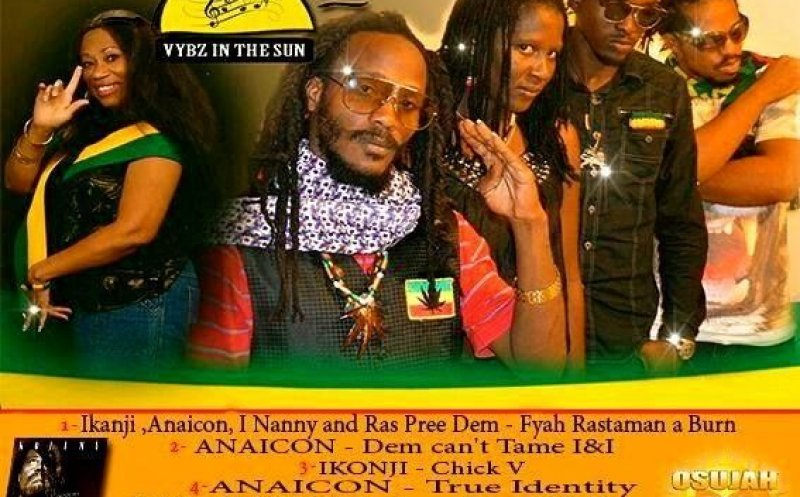 01. IKONJI , ft .  Anaicon , I Nanny , Ras Pree Dem  Composed by Markel Cole  FYAH  Produced by ( Osujah Records )