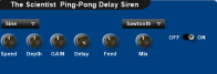 The Scientist  Ping-Pong Delay Siren