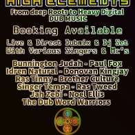 HIGH LMNTS BOOKING affiche
